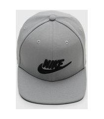boné nike sportswear futura pro cinza