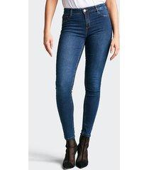 jegging jane skinny jeans - mellanblå