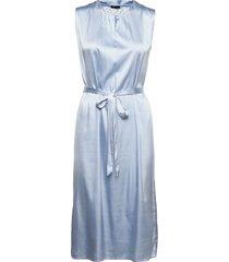 3176 - raya sleeveless dress knälång klänning blå sand