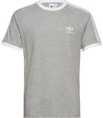 3-stripes tee t-shirts short-sleeved grå adidas originals