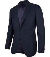 cavallaro cavallaro kostuum mr. nice jacket dark blue 1390007-63000 blauw