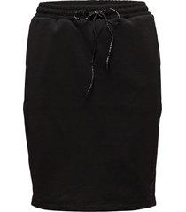 club nomade sweat skirt kort kjol svart scotch & soda