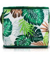 bolsa tã©rmica  grande jacki design praia piquenique verde - verde - feminino - dafiti