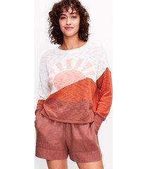loft lou & grey sunrise sweater