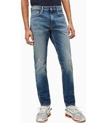 jeans slim arizona azul calvin klein
