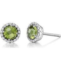 women's lafonn birthstone stud earrings