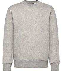 chip crew neck sweatshirt sweat-shirt tröja grå j. lindeberg