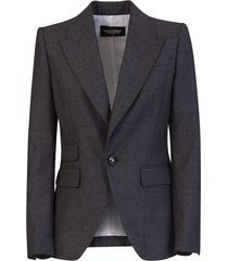 dsquared2 los angeles fitted blazer