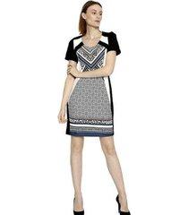 vestido energia fashion plus size manga curta