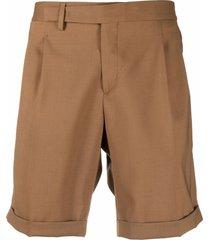 briglia 1949 straight-leg bermuda shorts - brown