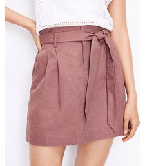 loft paperbag pocket skirt