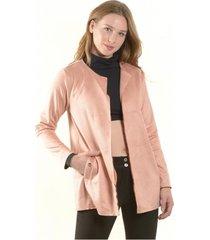 chaqueta ojetillos palo rosa bous
