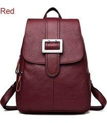 mochilas/ mochila femenina mochilas escolares mochila-rojo