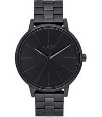 women's nixon 'the kensington' bracelet watch, 37mm