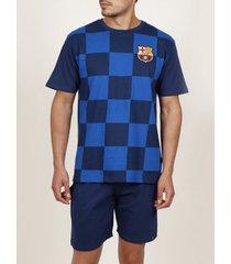 polo shirt korte mouw admas for men pyjama kort t-shirt chess fc barcelona admas