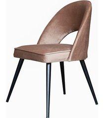 stylowe krzesło elipso beżowe