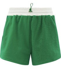 bungee cotton-terry shorts
