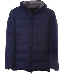 herno herno hooded padded coat