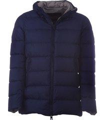herno herno hooded padded coat