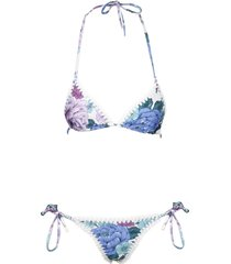 poppy gehaakte rand bikini