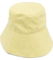 bondi born wide-brim bucket hat - yellow