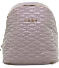 "closeout! dkny allure 14"" quilted backpack, created for macy's"
