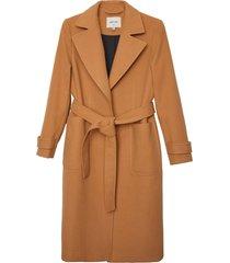 matt & nat evie vegan coat, camel