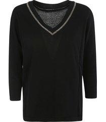 fabiana filippi v-neck sweatshirt