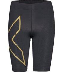mcs run comp shorts-w shorts sport shorts svart 2xu