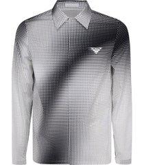 camicia uomo maniche lunghe digital square