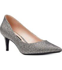 zapato soho plateado mujer nine west