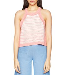 bcbgeneration halter-style cotton sweater top