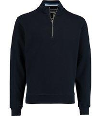 baileys sweater met rits blauw rf 113116/55