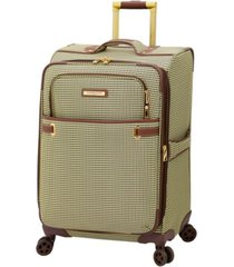"london fog oxford ii 25"" softside spinner suitcase, created for macy's"