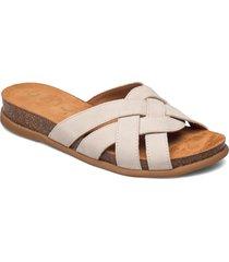 cabru_blu shoes summer shoes flat sandals beige unisa