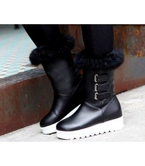 pb183 awesome pointy wedge booties, hair top,, us size 4-10.5, black