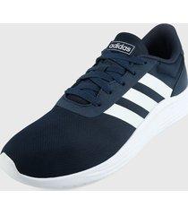 tenis training azul oscuro-blanco adidas performance lite racer 2.0