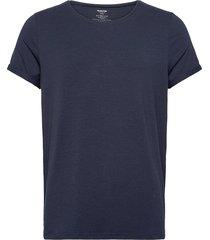 bamboo jimmy tee t-shirts short-sleeved blå resteröds