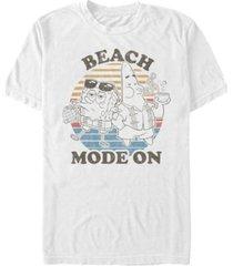 fifth sun men's beach mode short sleeve crew t-shirt