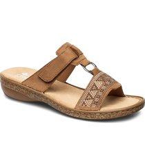 628m0-22 shoes summer shoes flat sandals brun rieker