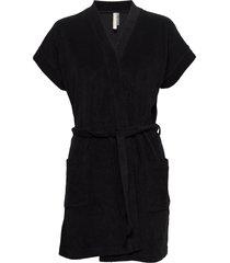 terry jersey kimono morgonrock svart filippa k soft sport