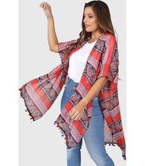 kimono rojo vindaloo scarlett