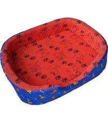 cama para perros tipo cuna mediana - naranja