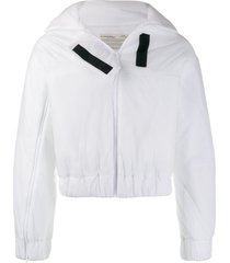 a-cold-wall* zipped padded jacket - white