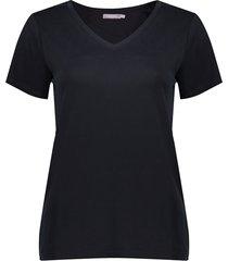 02891-41 basis t-shirt v-hals