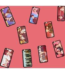 kpop got7 never ever cellphone case flight log arrival jackson phone cover skins