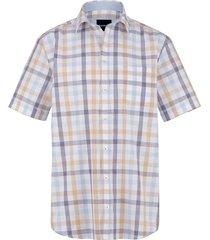 overhemd babista beige::lichtblauw