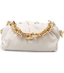 bottega veneta the chain pouch bag - neutrals