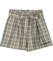 givenchy checked shorts