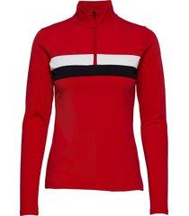 lexie w sweat sweat-shirt trui rood 8848 altitude
